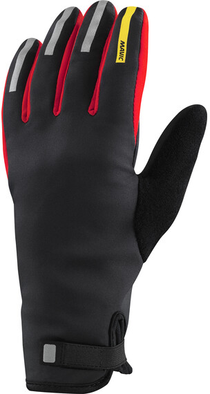Mavic Aksium Insulated Gloves Black/Fiery Red